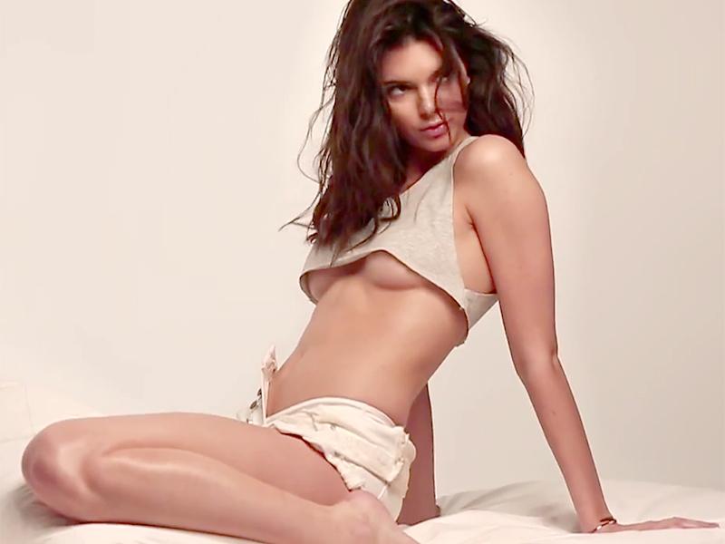 Kendall Jenner Topless (18 Photos)