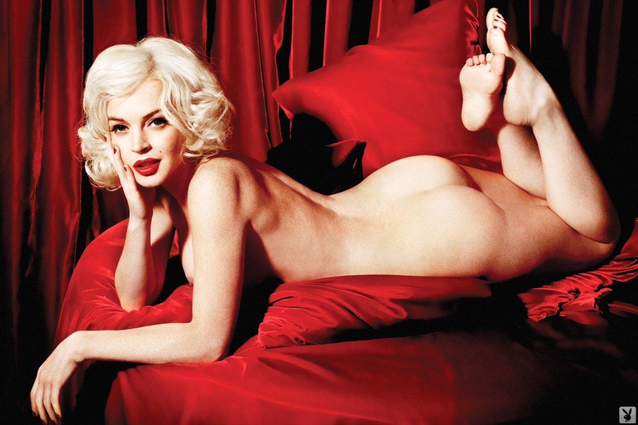 lindsay lohan sexy ass naked