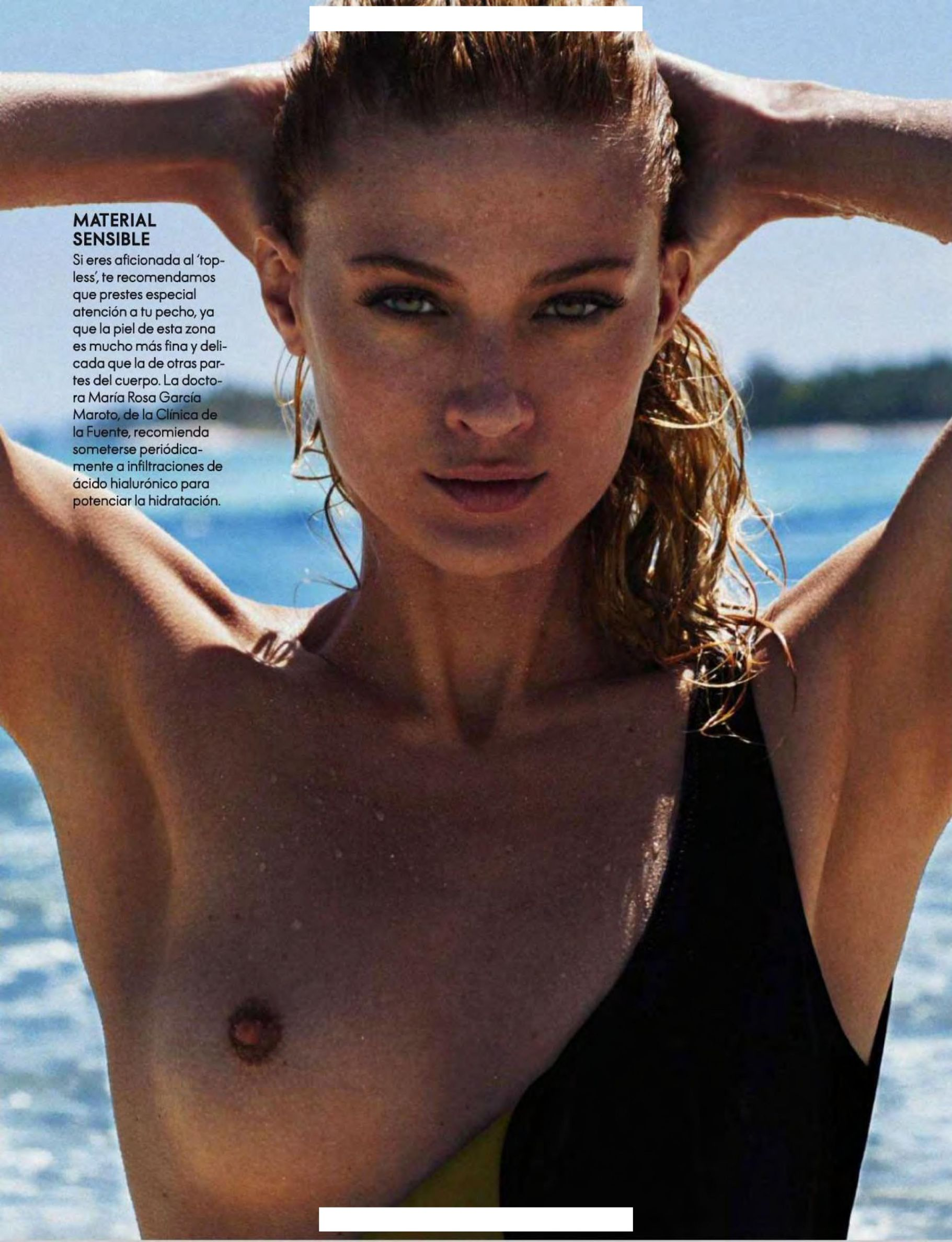 Michelle Buswell Topless (3 Photos)
