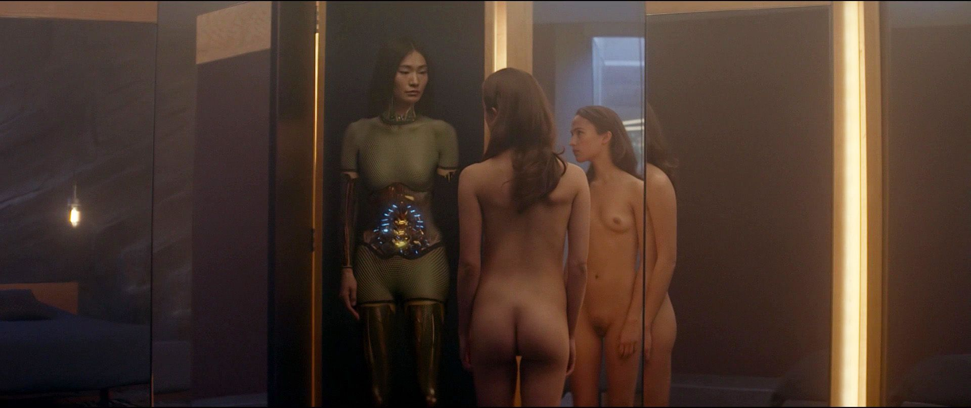 alicia vikander ex machina nude