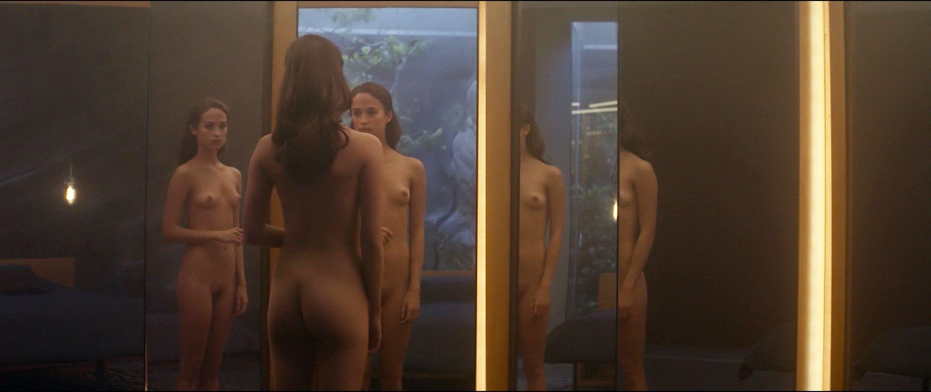 Alicia vikander ex machina nude