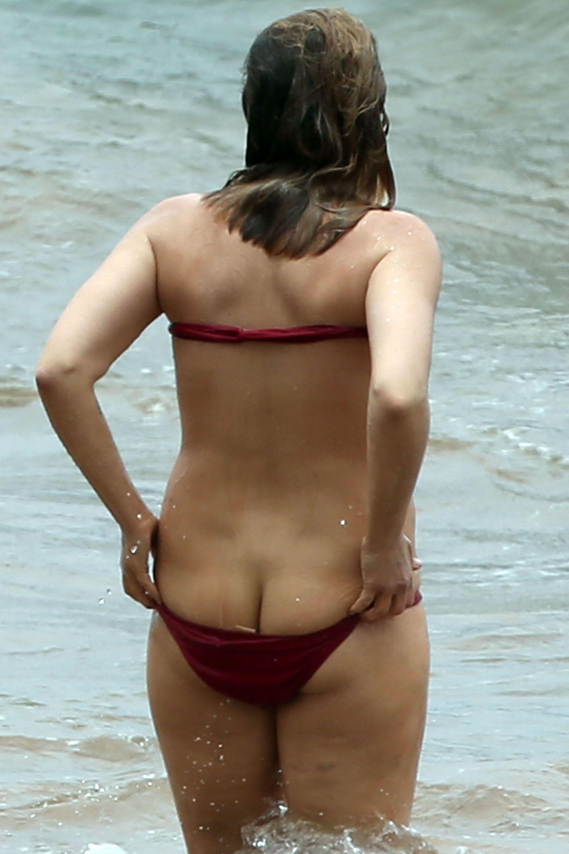 Elisabeth Harnois Ass (2 Photos)