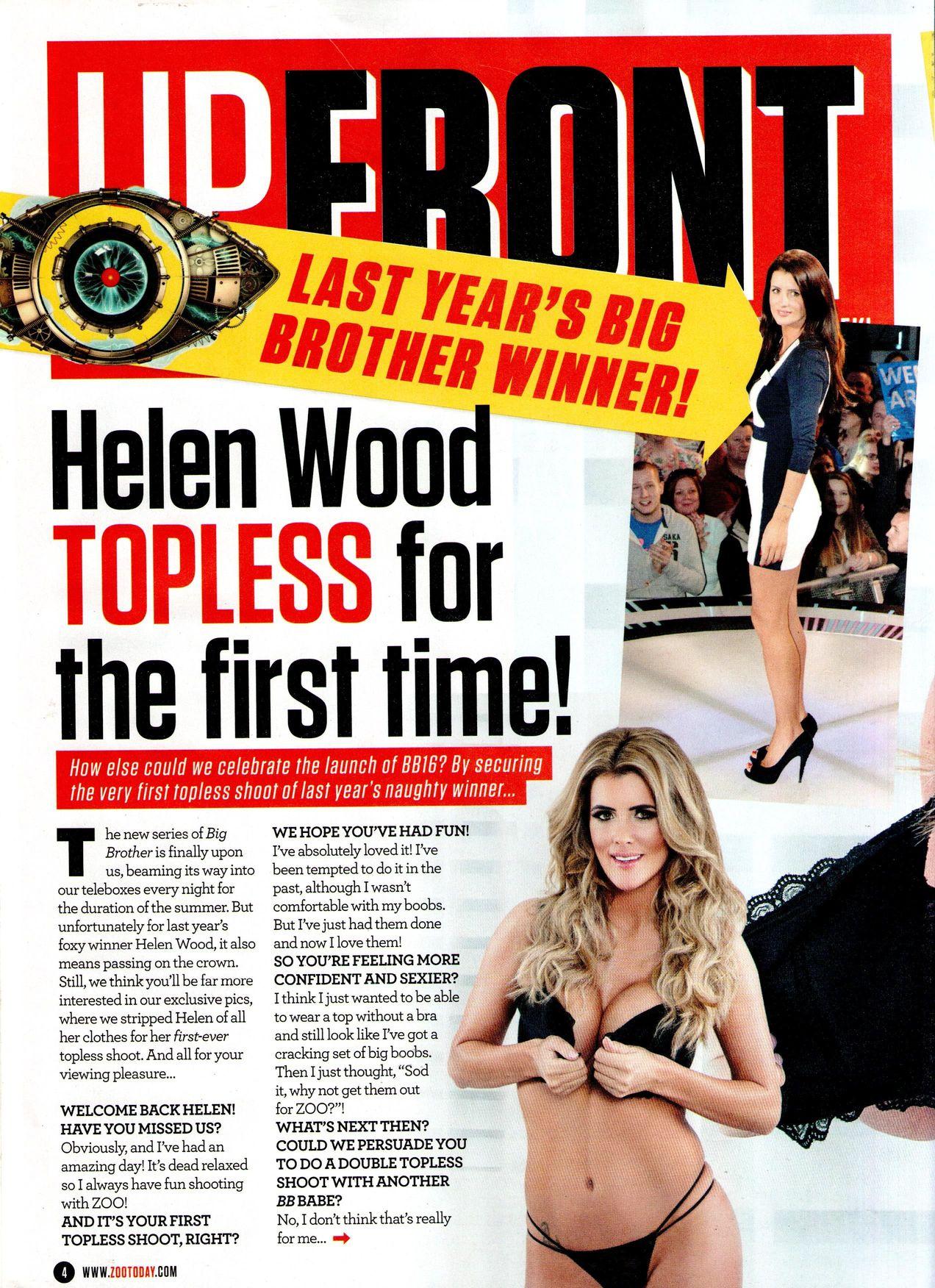 Helen Wood Topless (10 Photos)