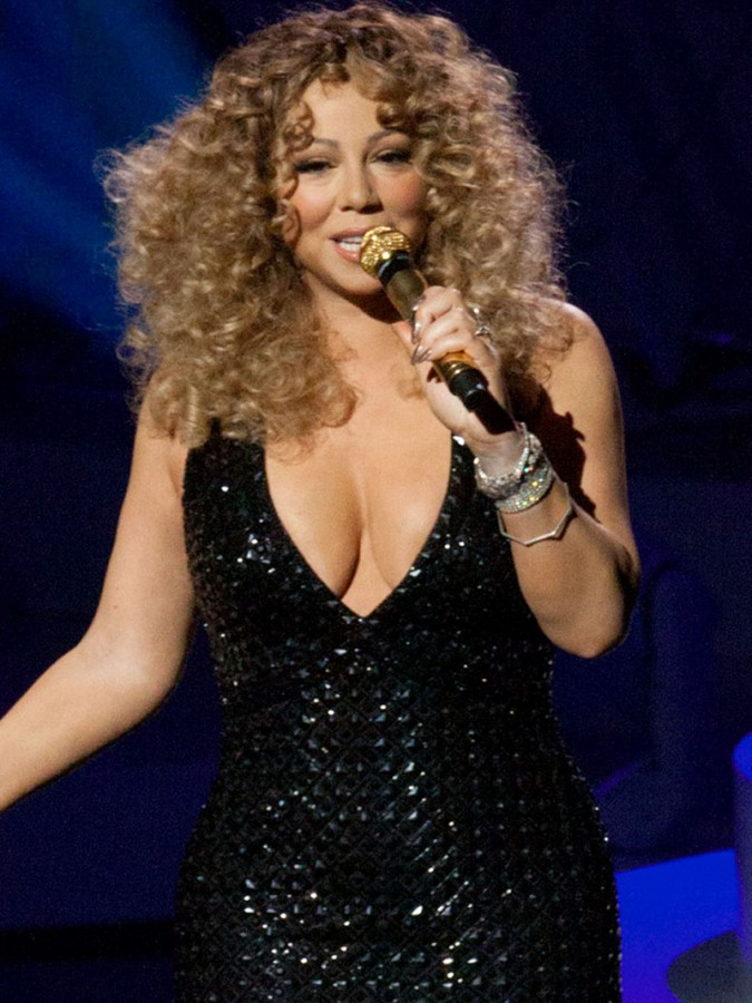 Mariah Carey In Underwear, The Hot Goddess, Sexy And