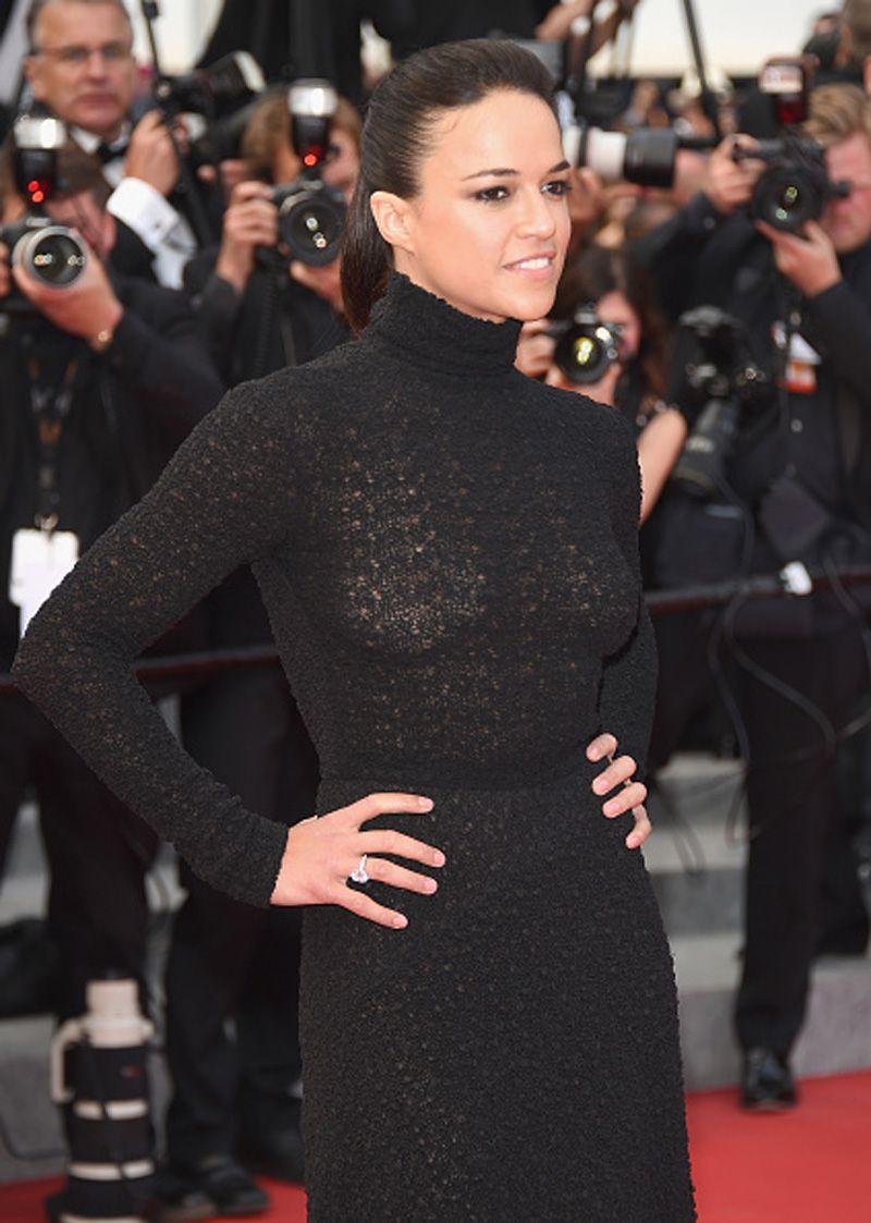 Michelle Rodriguez See Through (3 Photos)