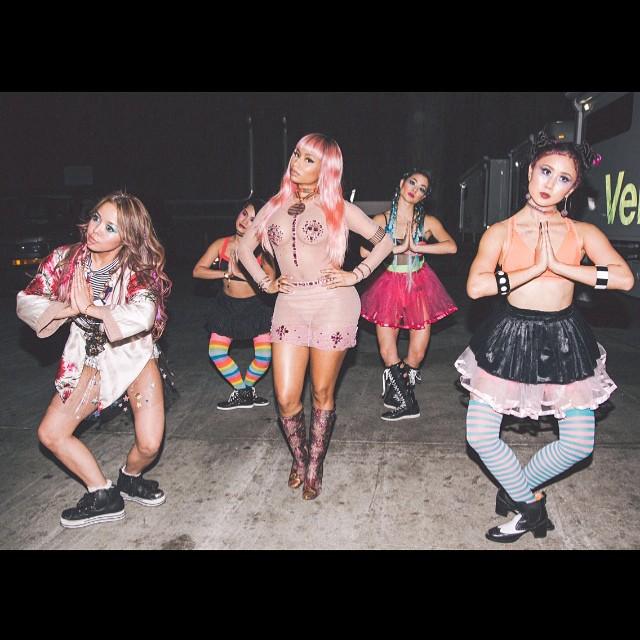 Nicki Minaj See Through (3 Photos)
