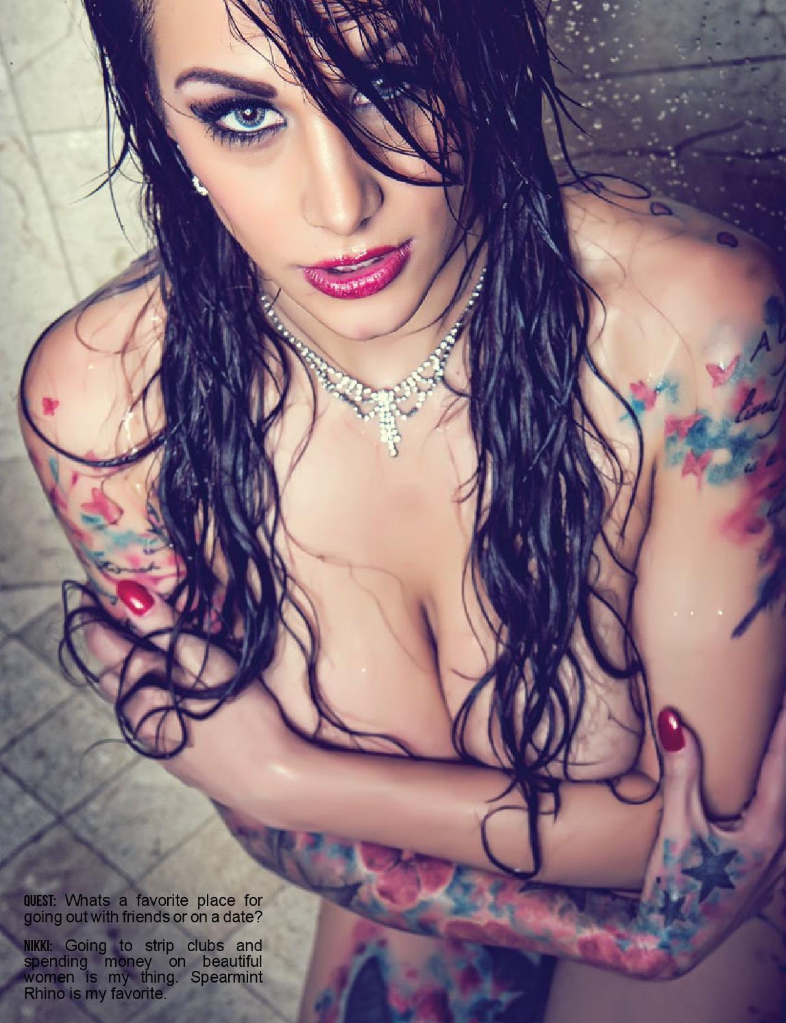 braless Sex Nikki Nichole naked photo 2017
