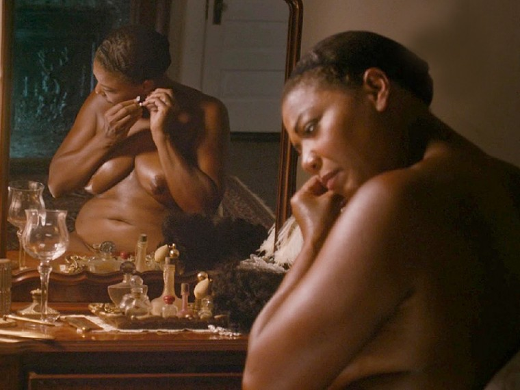 queen latifah big titties naked