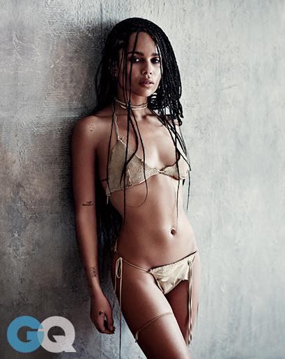 Zoe Kravitz in Bikini (7 Photos)