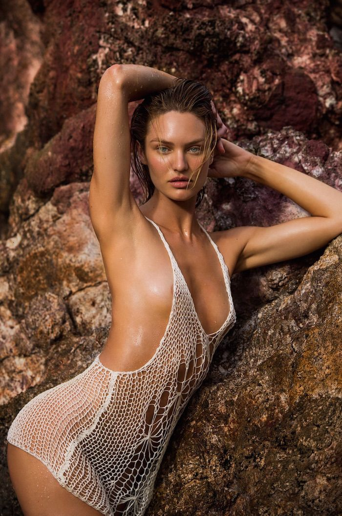 Outtakes: Candice Swanepoel Naked for Maxim (6 Photos)
