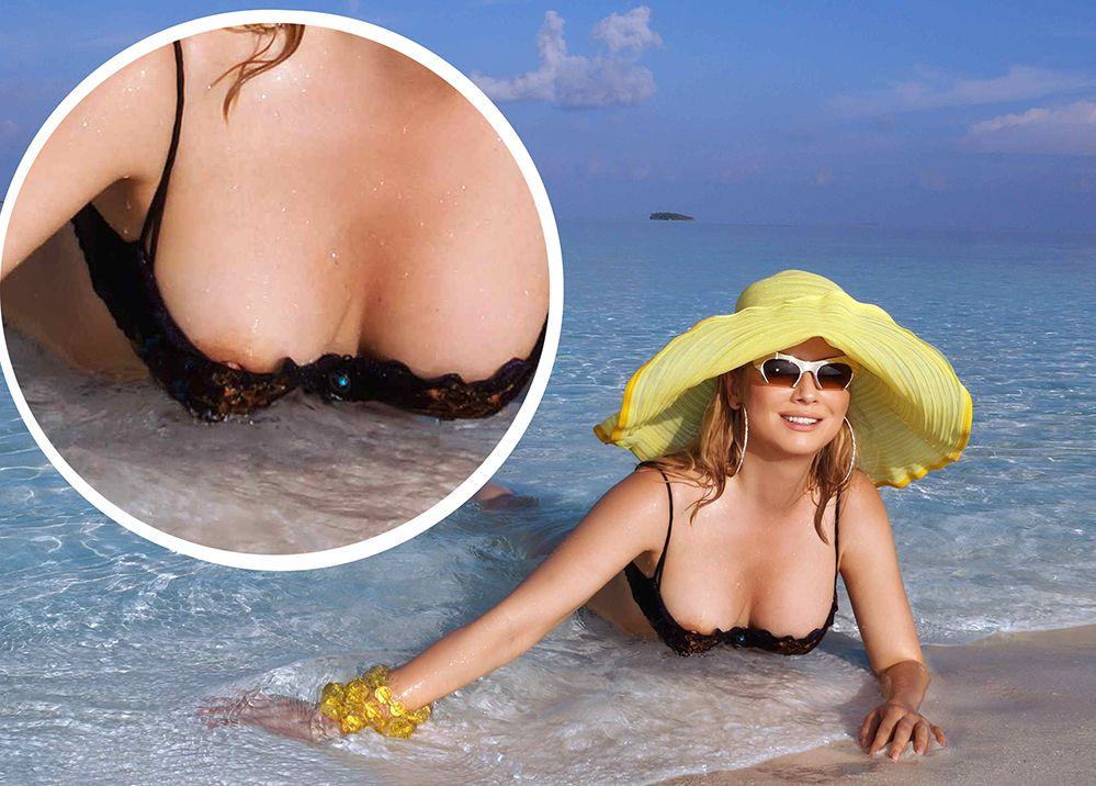 Elena Lenina Nipple Slip (2 Photos)