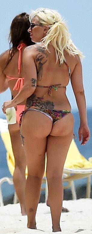 Lady gaga tiny bikini