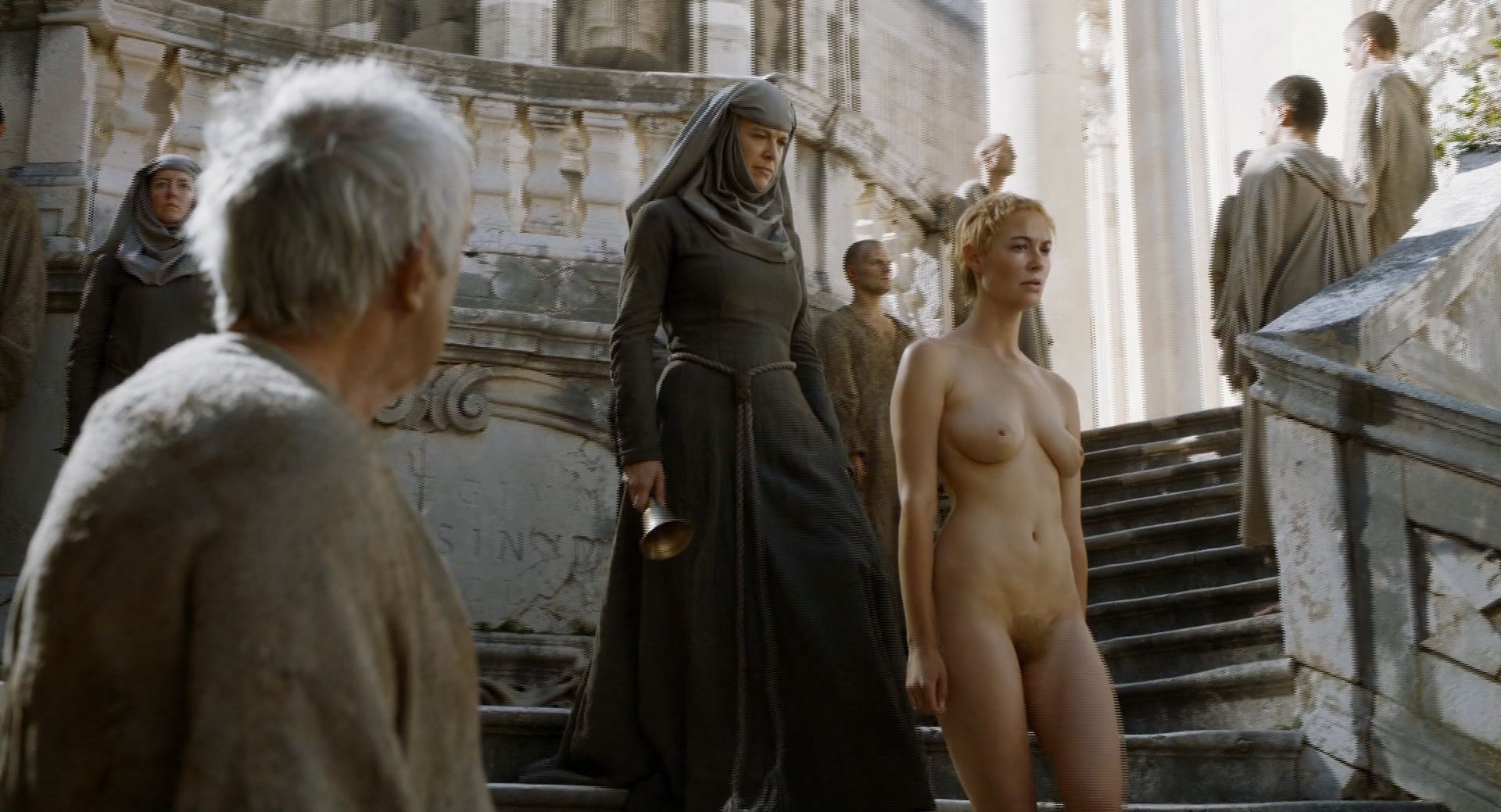 Lena headey cersei walk of shame