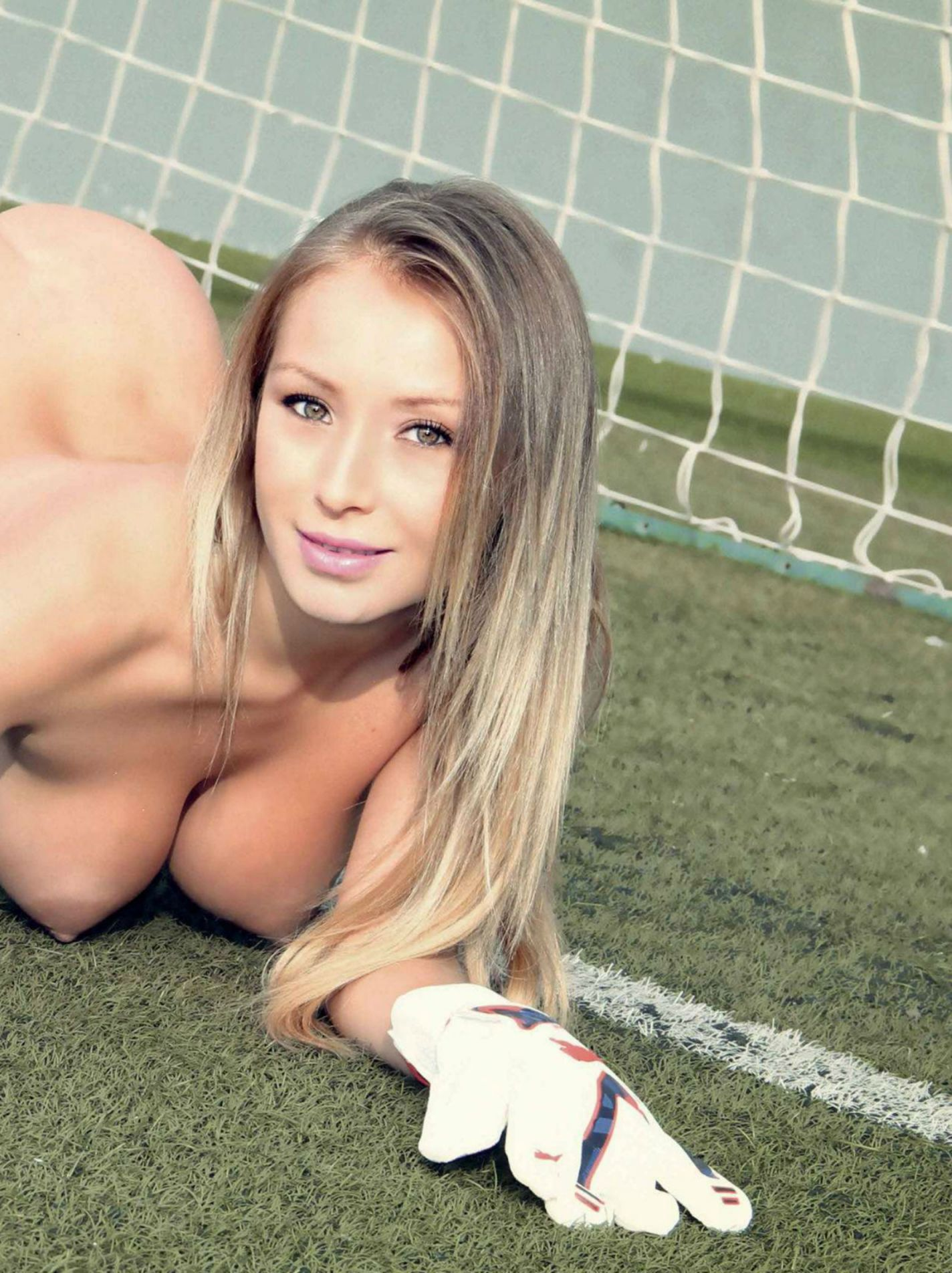 Ronaldo's girl daniella chavez has naked playboy pictures and they are here