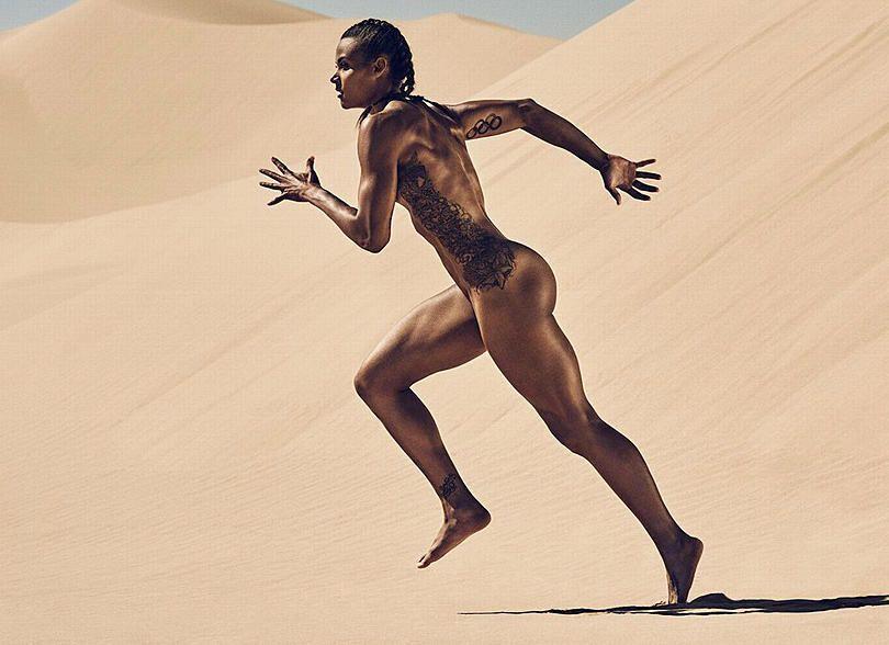 Finest Black Female Athletes Nude HD