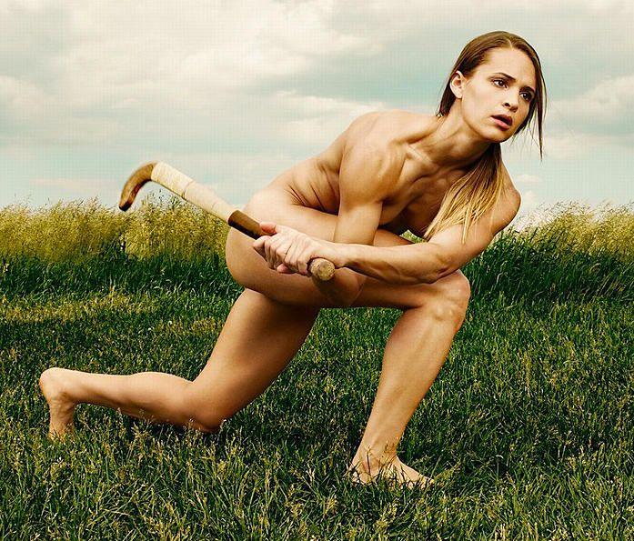 Real athletes naked — 2