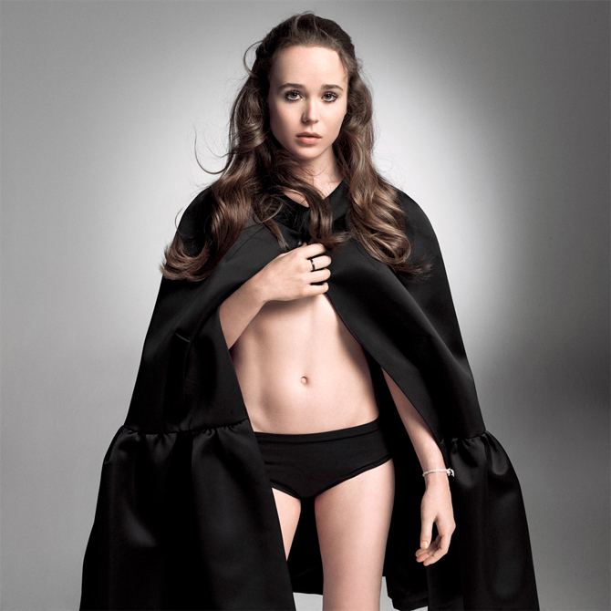Ellen-Page-Sexy-W-Photo-Shoot