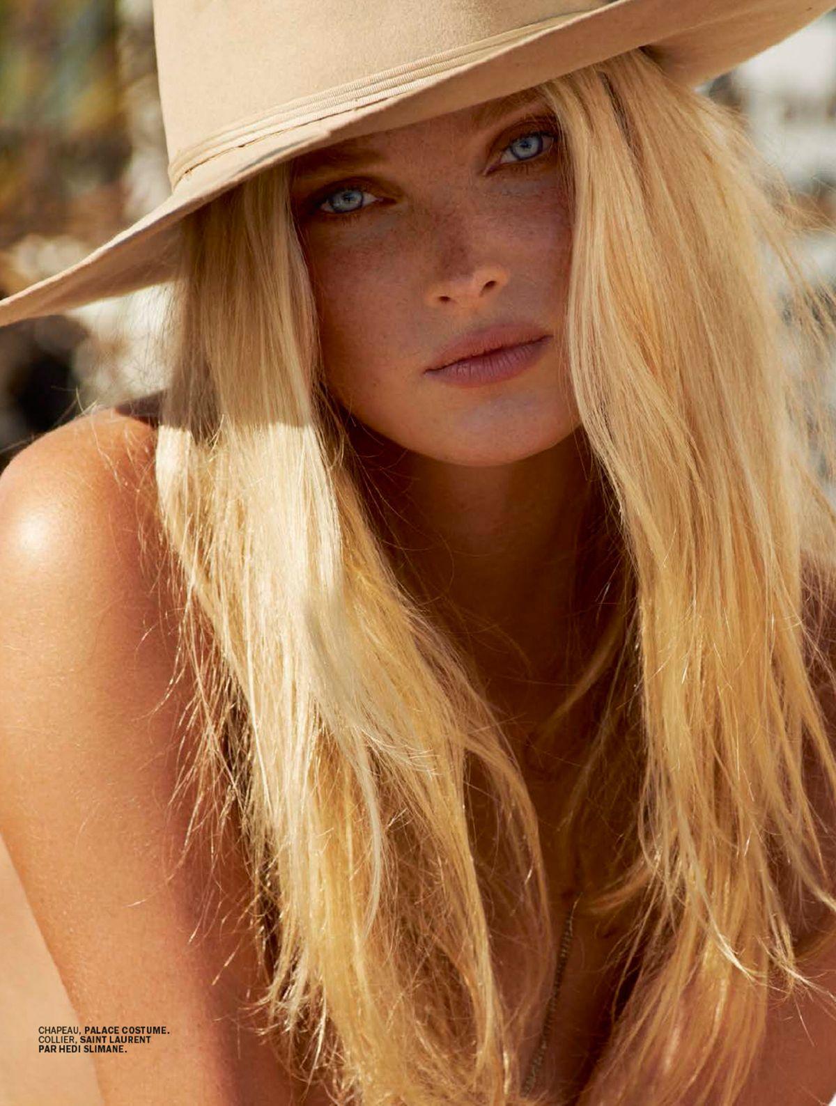 Elsa Hosk Topless (11 Photos)