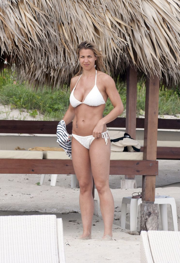 Something is. Gemma atkinson bikini