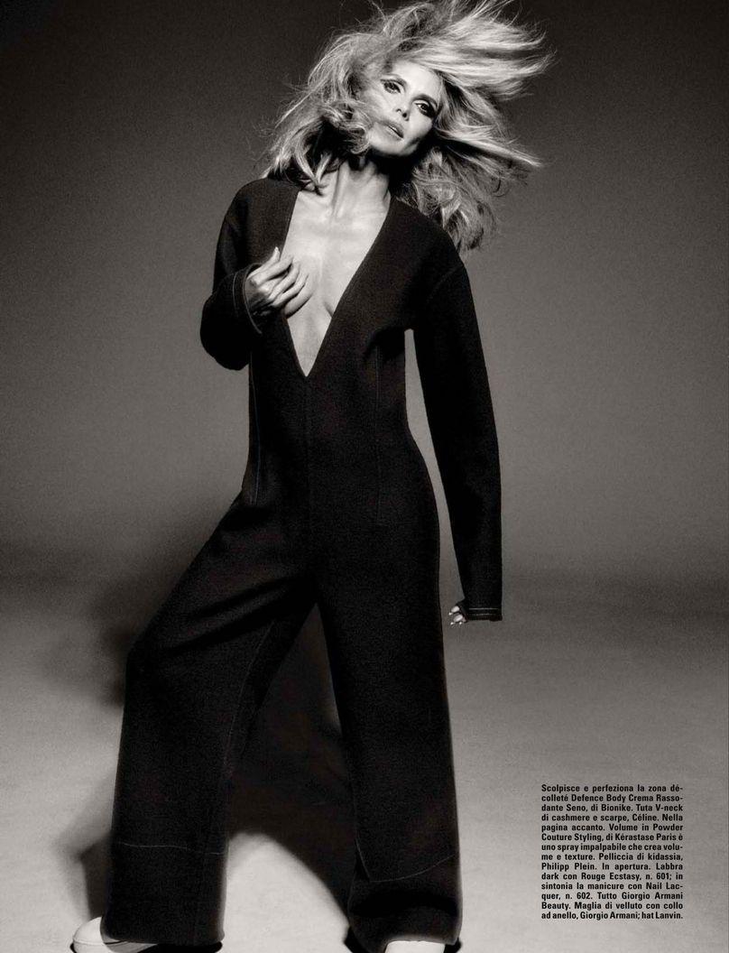 Heidi Klum See Through (3 Photos)