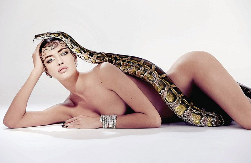 Irina Shayk Nude (2 Photos)