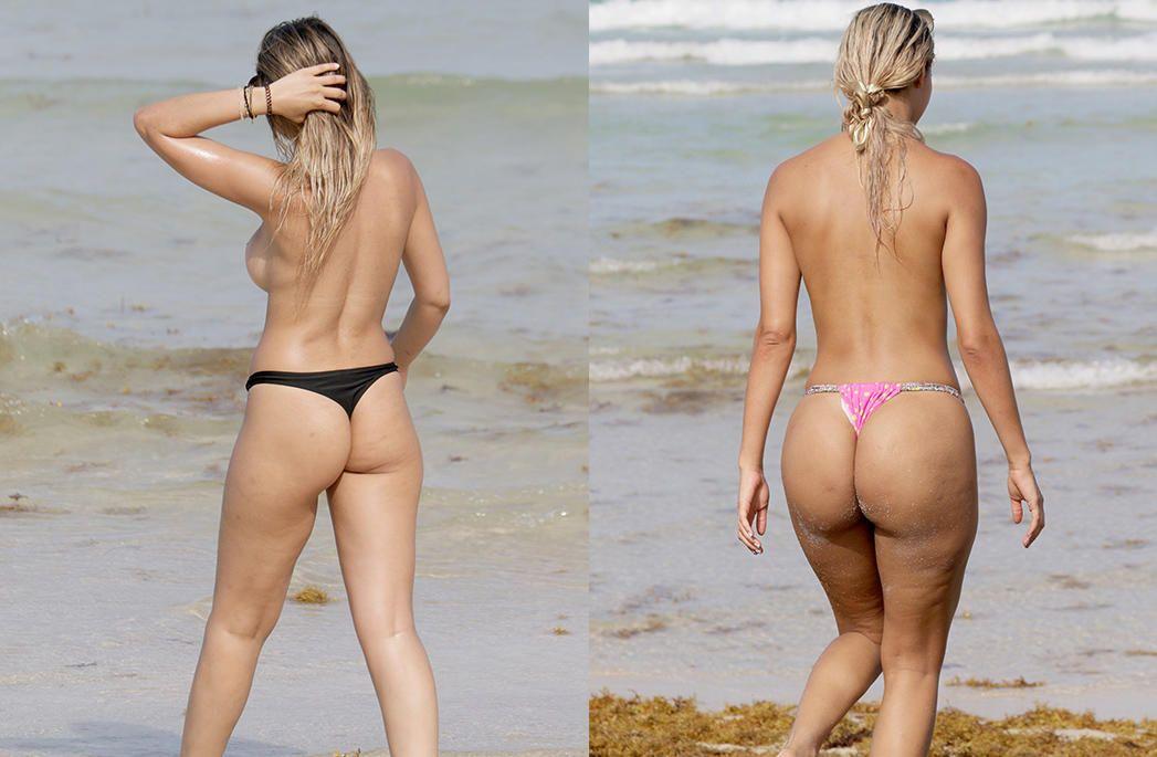 Juliana Reis And Veronica Basso Topless (9 Photos)