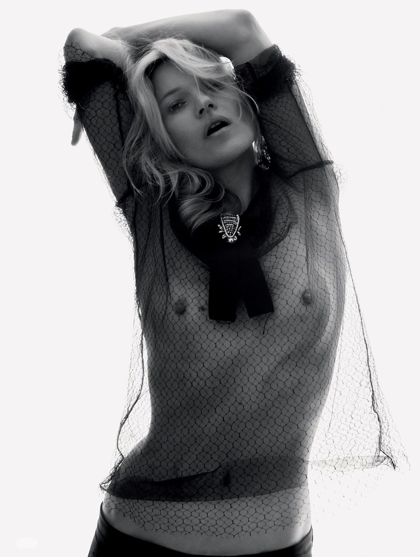 Kate Moss See Through (7 Photos)