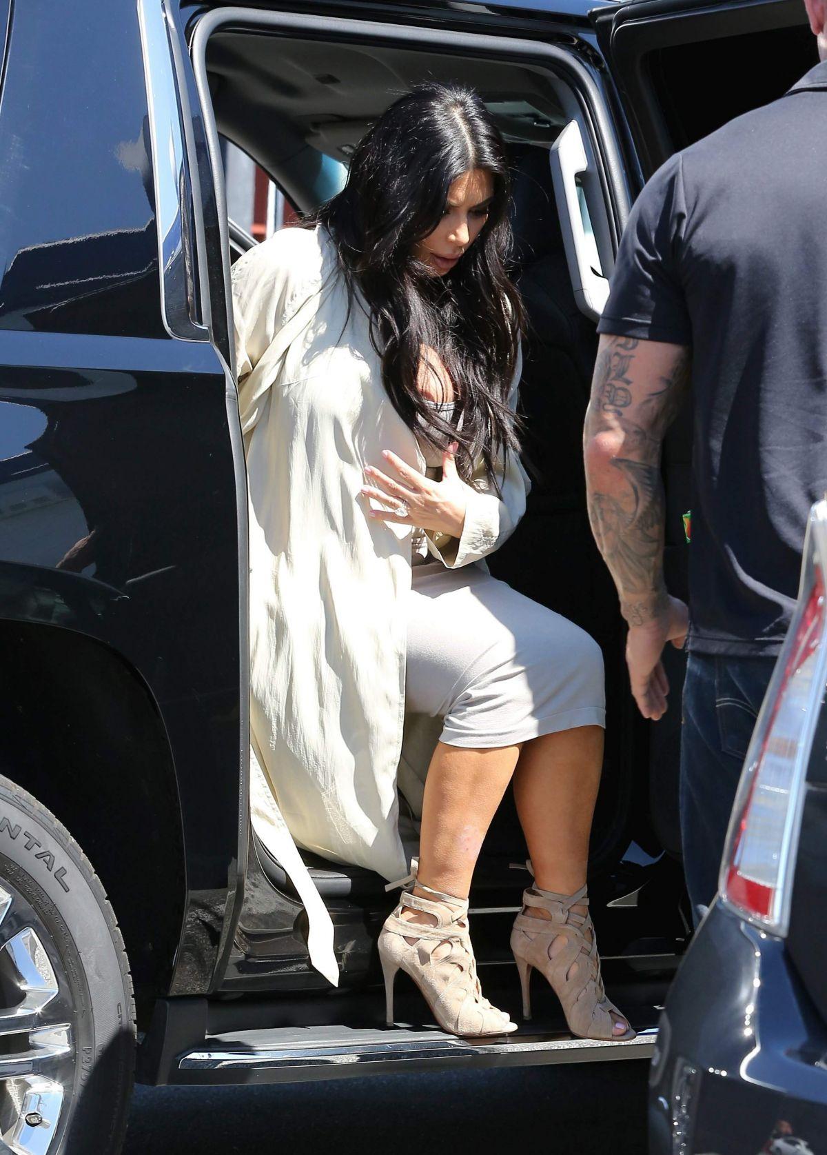 Kim Kardashian Nipple Slip (2 Photos)