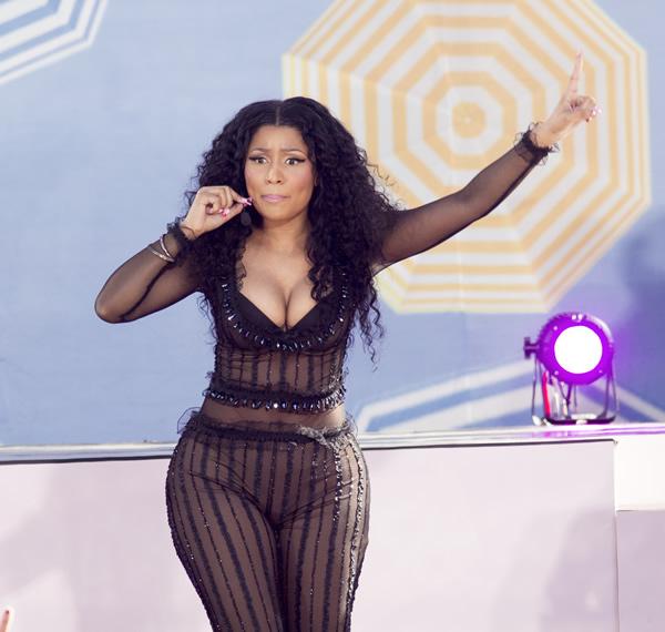 Nicki Minaj See Through (18 Photos)