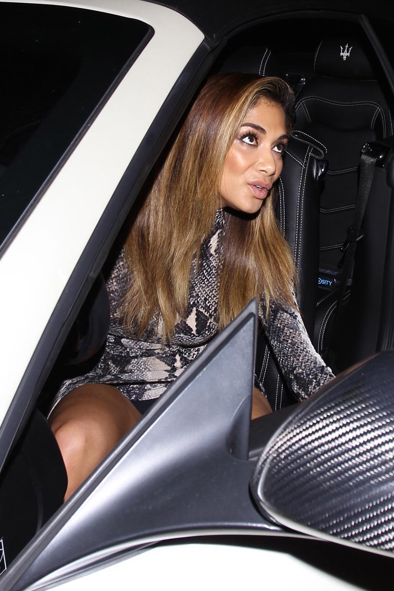 Nicole Scherzinger Upskirt (2 Photos)   #TheFappening