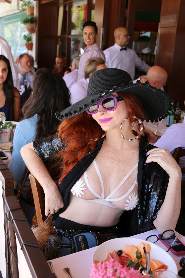 Phoebe Price in a Bra (11 Photos)