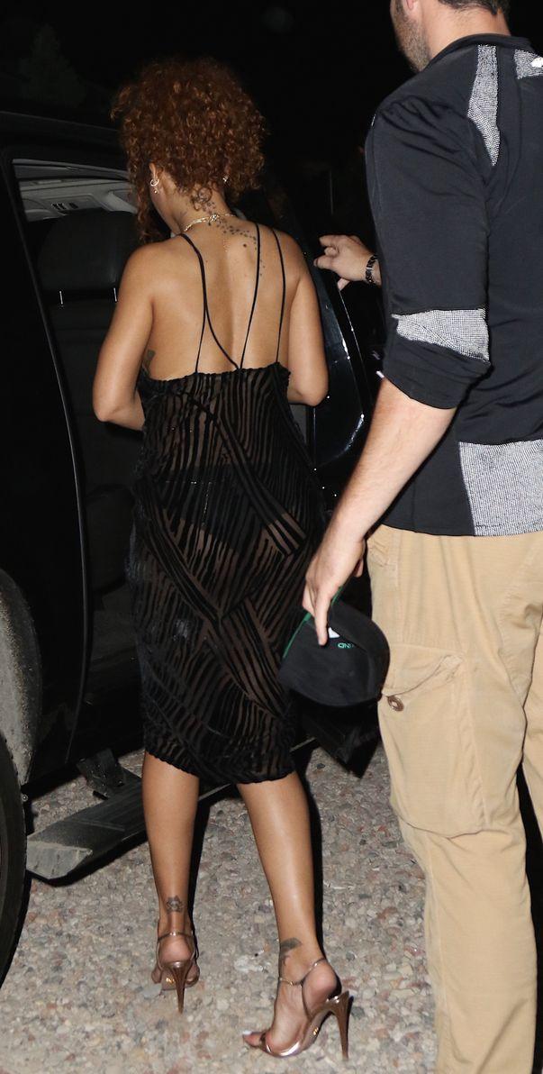 Rihanna See Through (8 Photos)