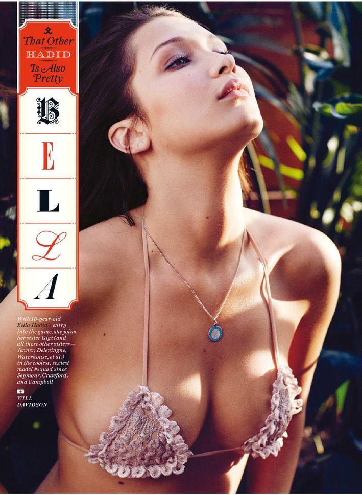 Bella Hadid Sexy (3 Photos)