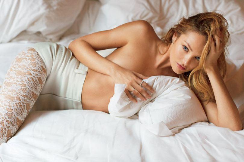 Candice Swanepoel Topless (1 Photo)