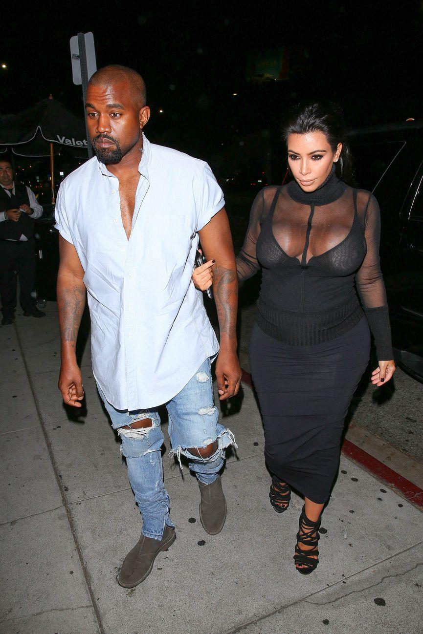 Kim Kardashian See Through (78 Photos)