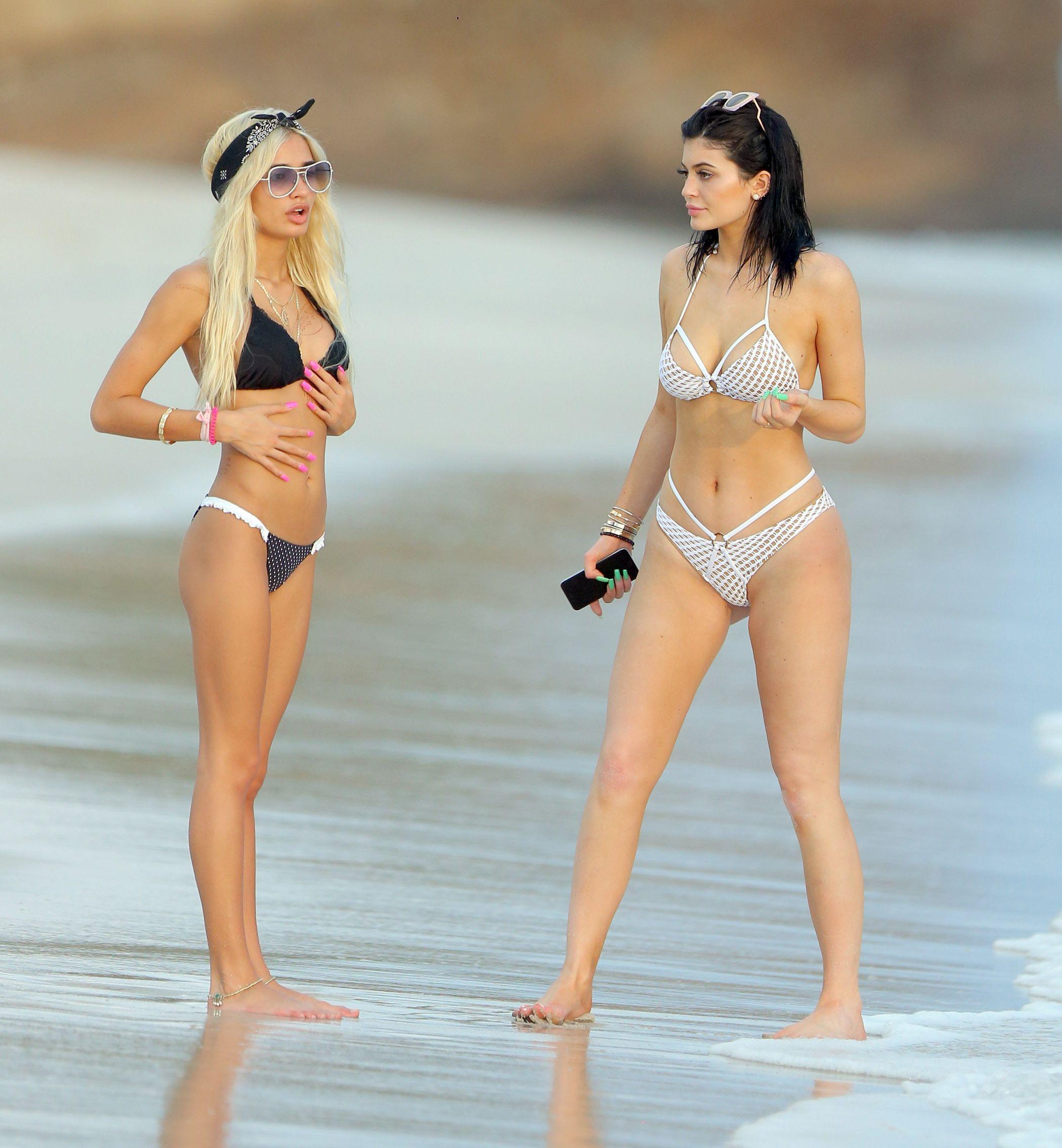 Kylie Jenner in a Bikini (27 Photos)