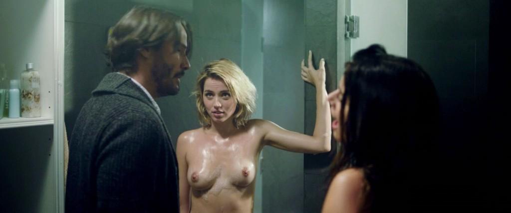 Dark hair nude women