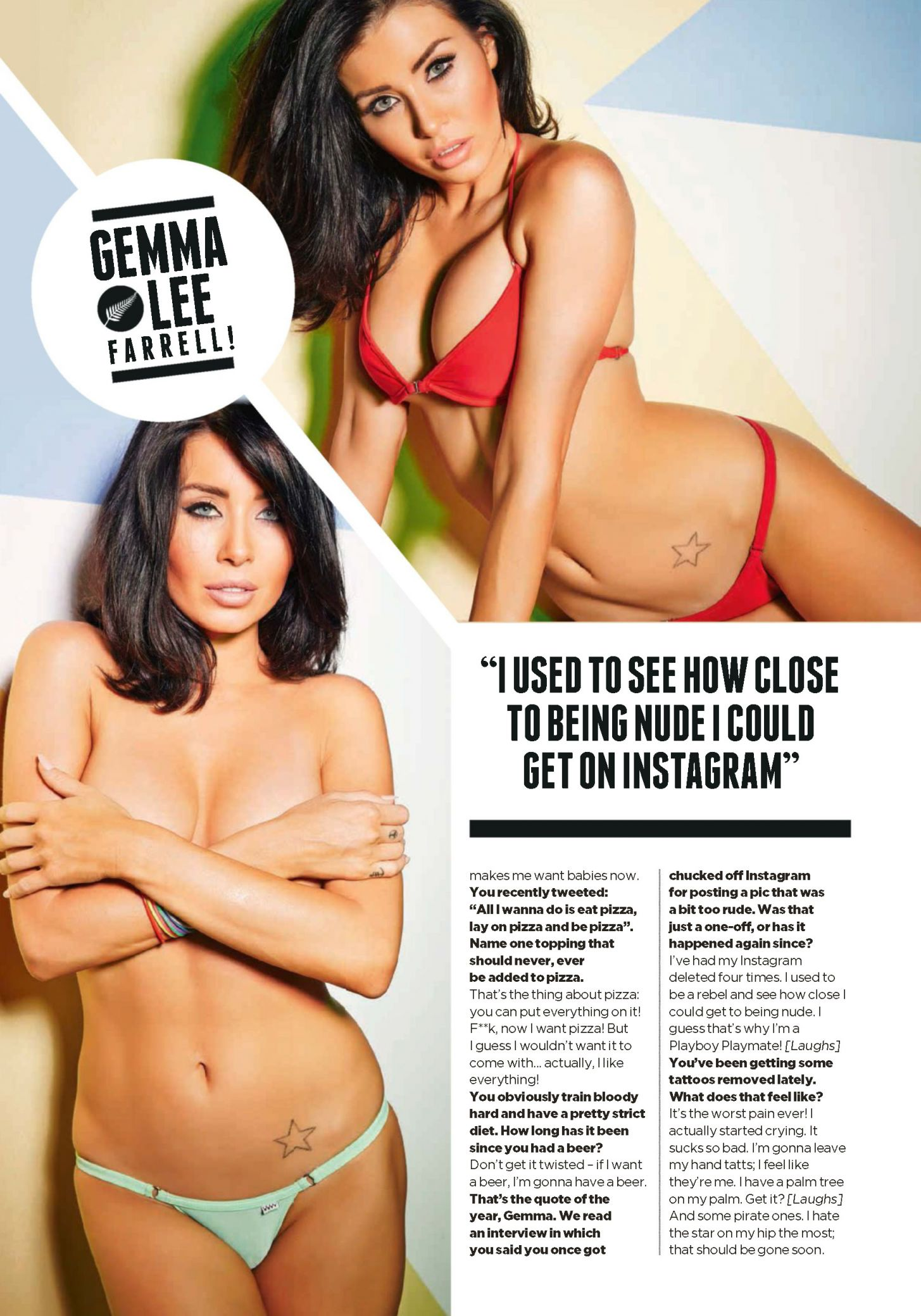 Gemma Lee Farrell Nude Delightful gemma lee farrell in a bikini & topless (8 photos) | #thefappening