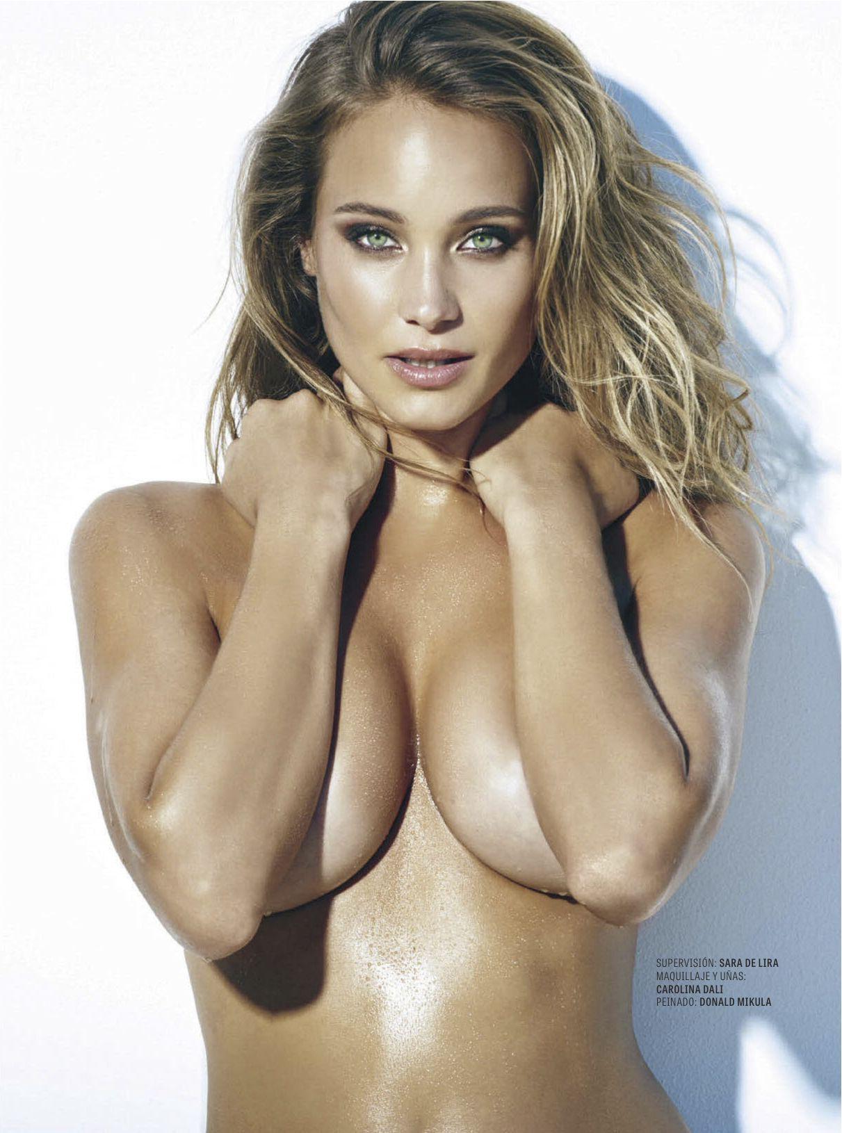 Sexy latina bent over naked
