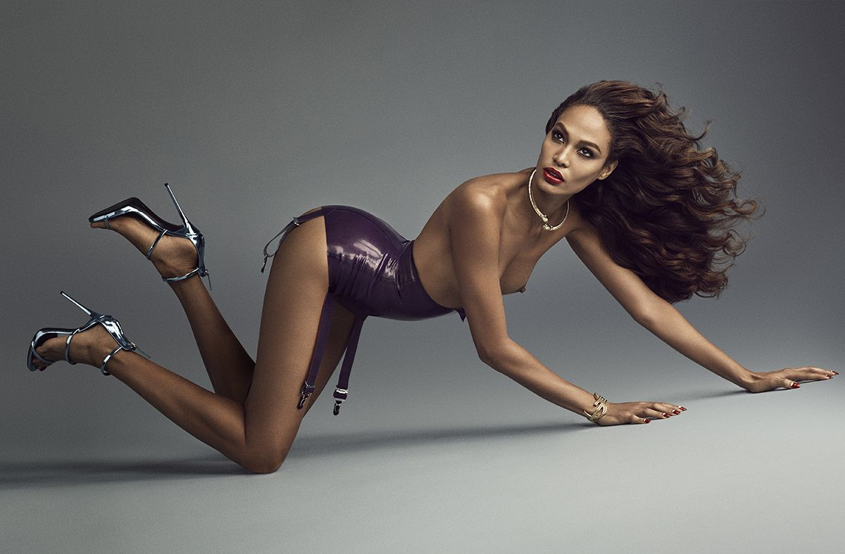 Joan Smalls Topless (9 Photos) | #TheFappening