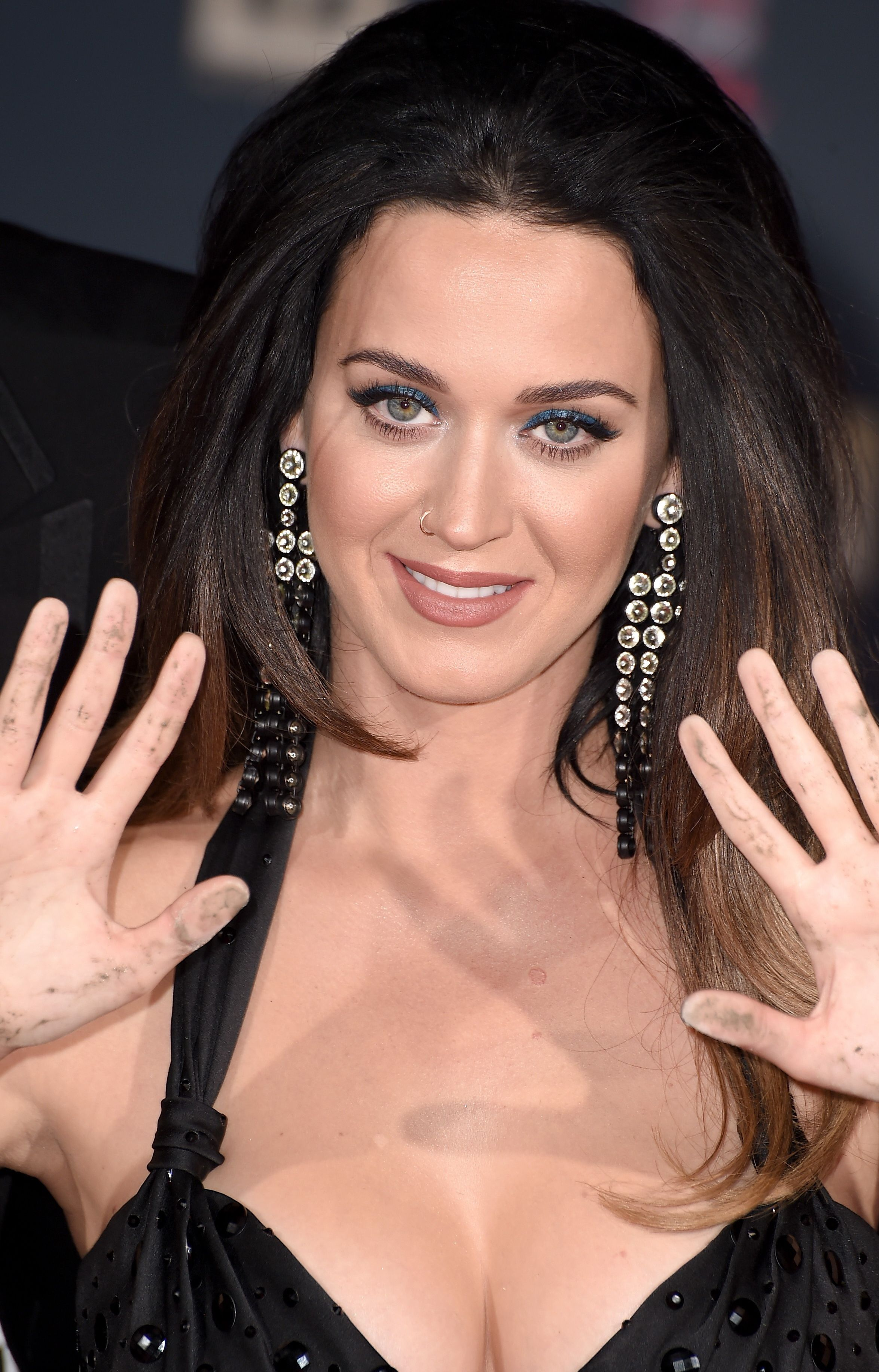 Katy perry cleavage question