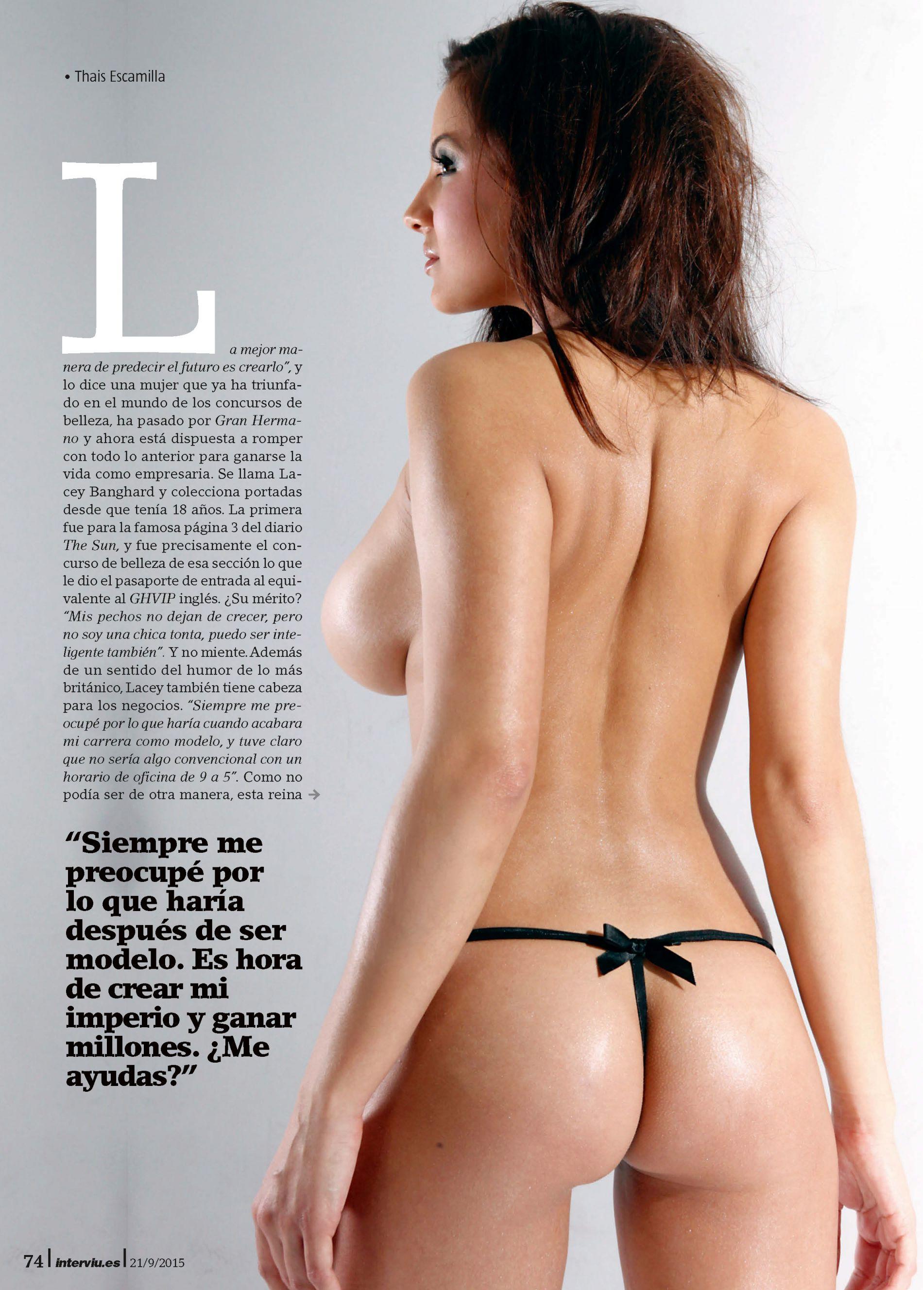 Lacey Banghard Topless (7 Photos)