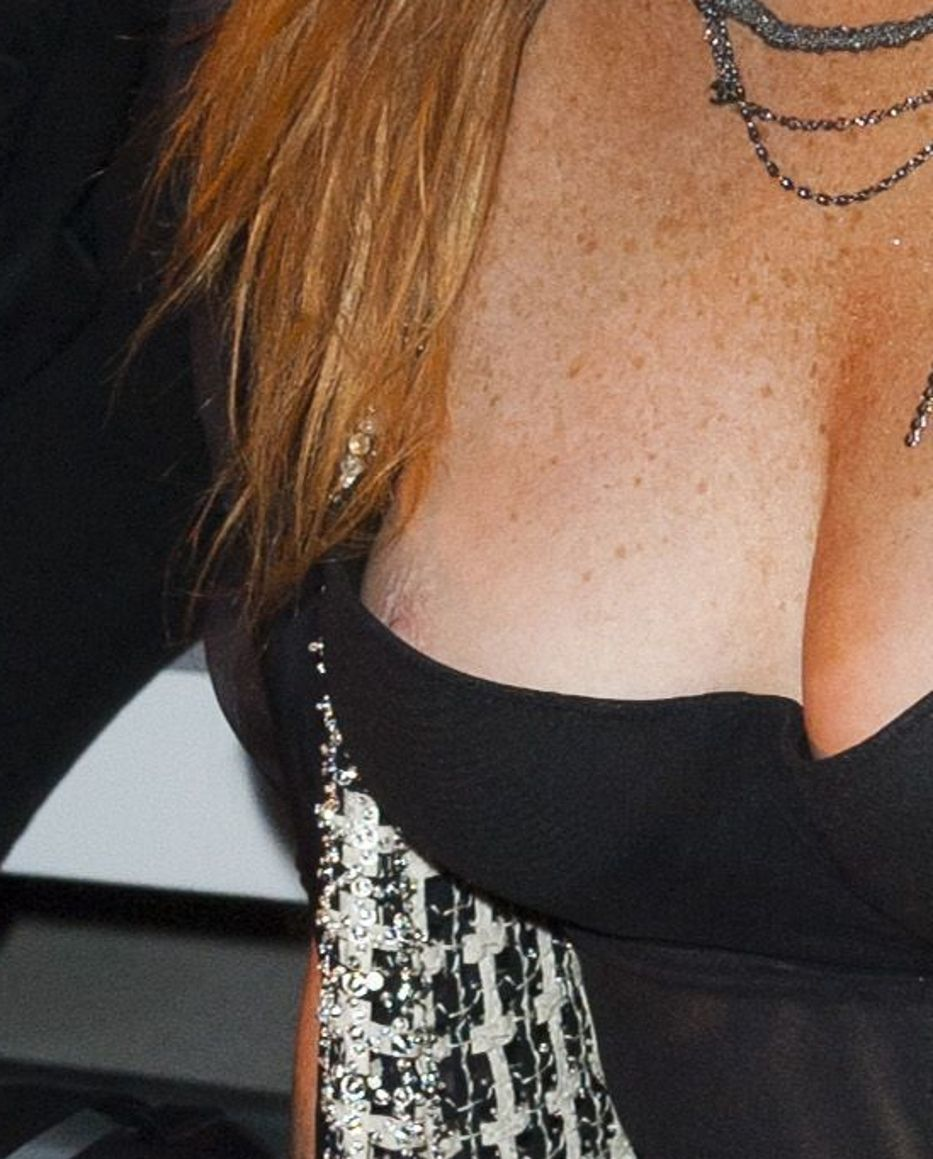 Think, that Lindsay lohan nipple slip agree, useful