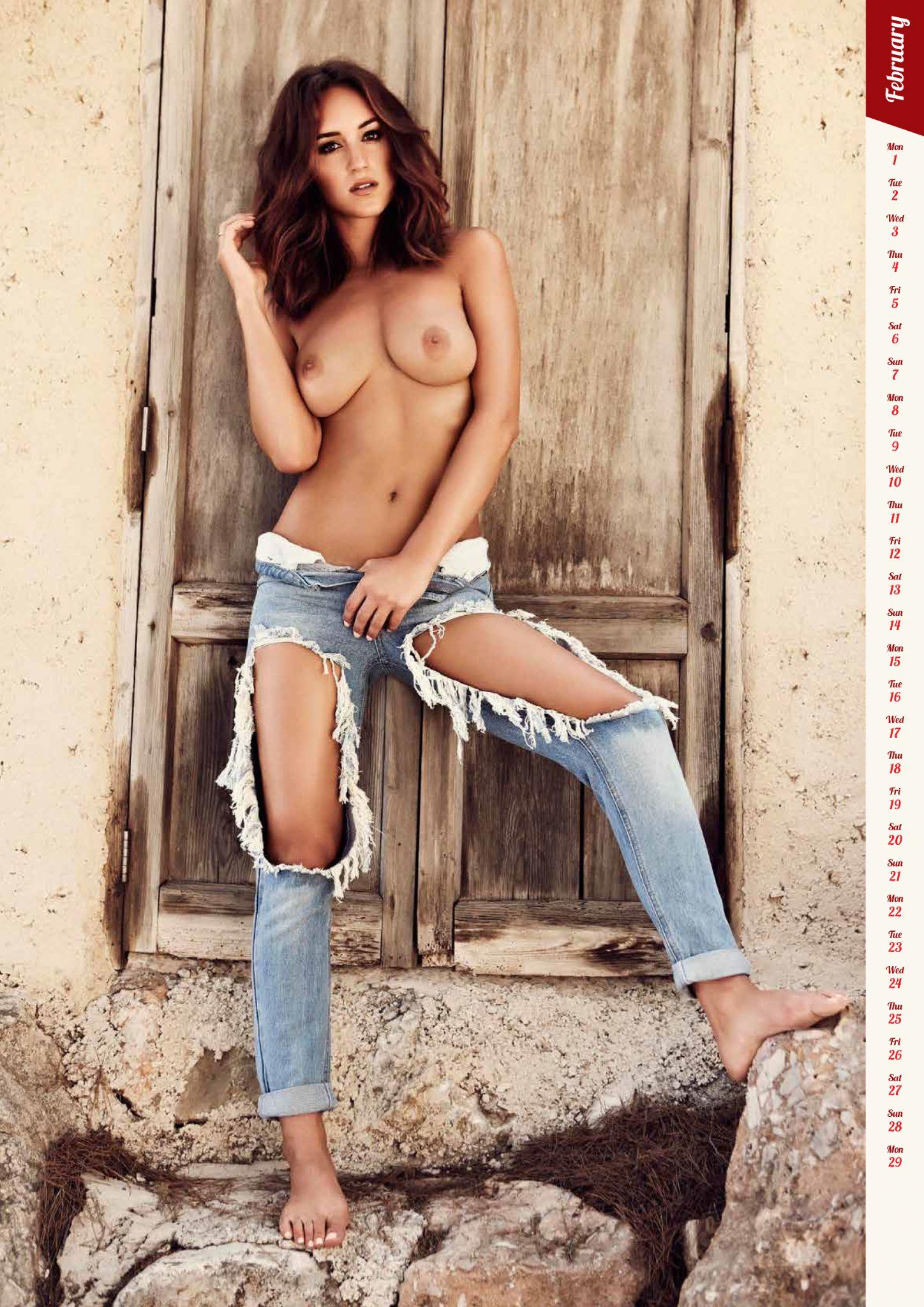 Nudist Calendar - Rosie Jones Nude Photos and Videos   #TheFappening