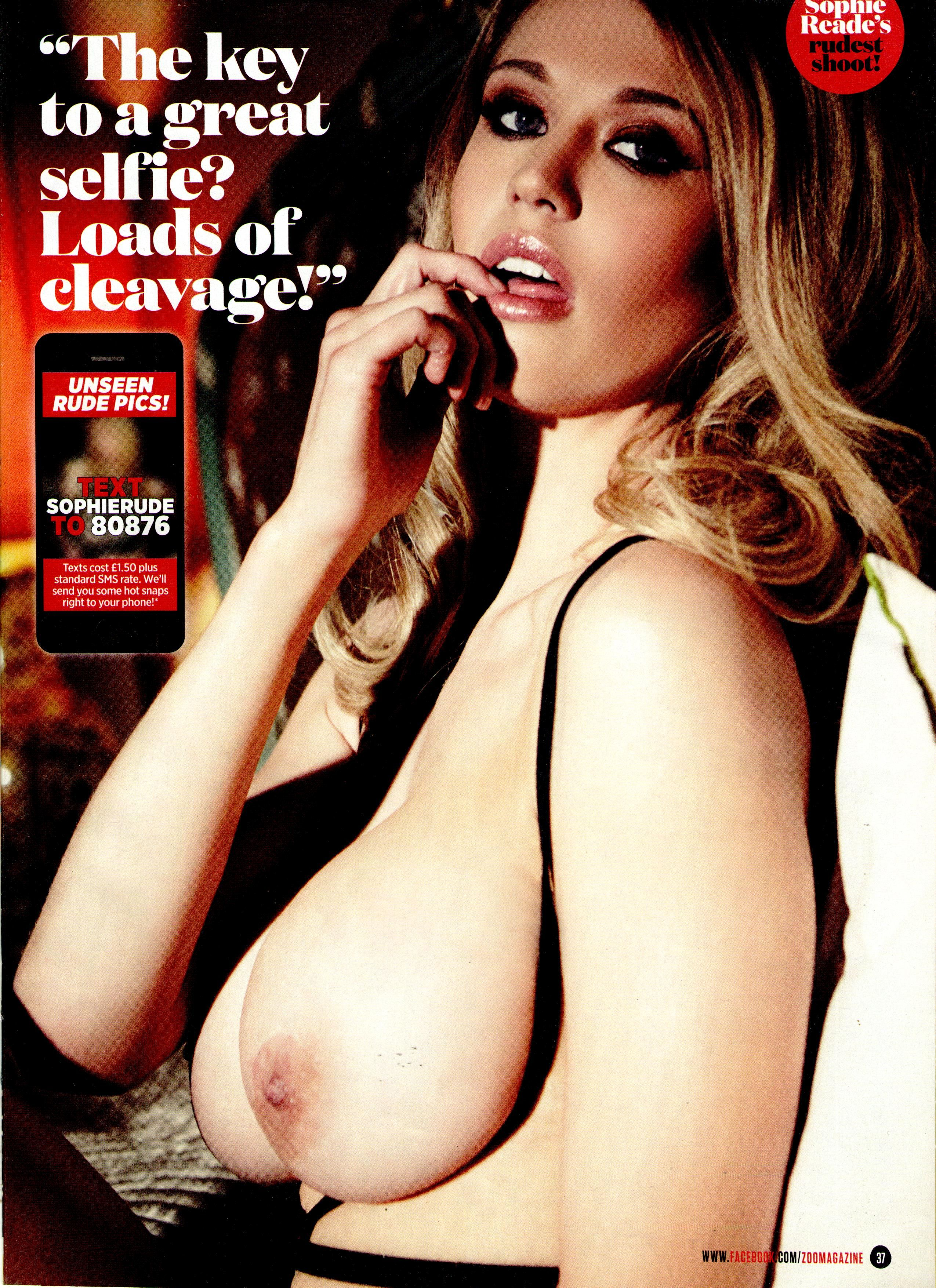 Think, that horny photos of sophie reade nude