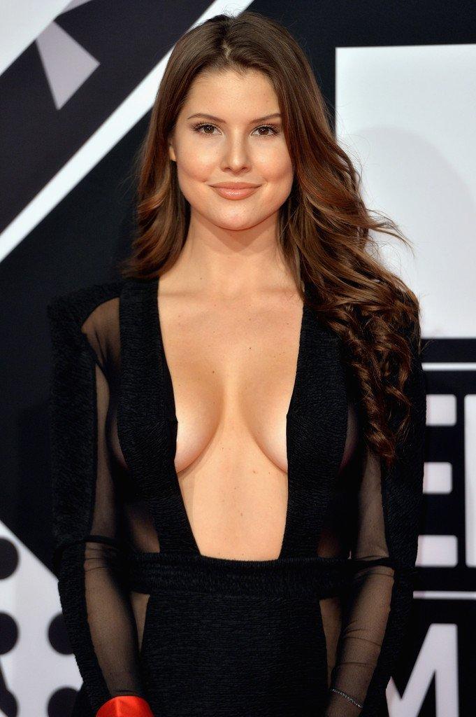 amanda cerny cleavage 6 photos celebrity leaks