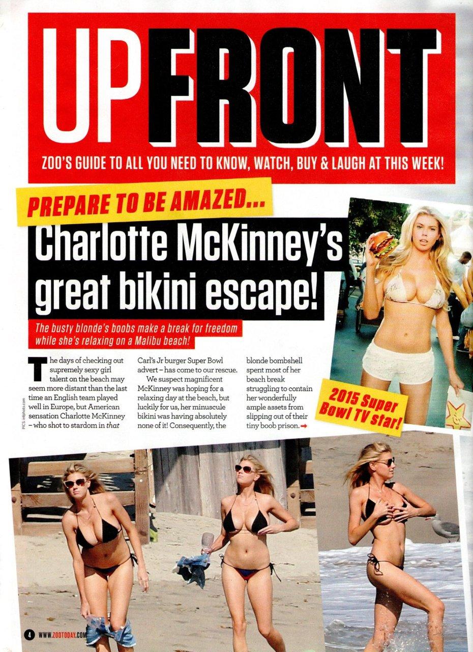 Charlotte McKinney in a Bikini (4 New Photos)