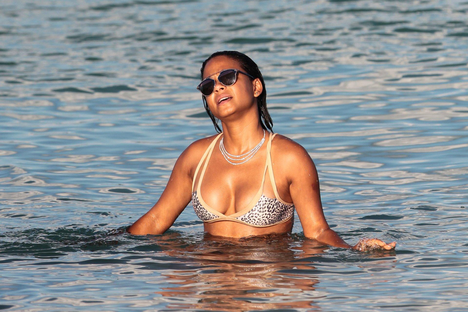 Christina Milian in a Bikini (38 Photos)