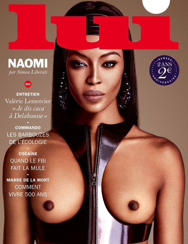 Naomi Campbell Topless (1 New Photo)