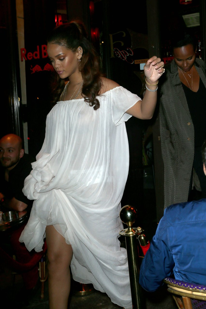 Have hit Rihanna see through paris